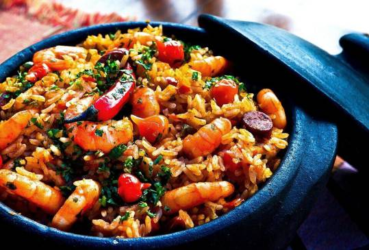 an image of a fried rice dish